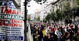 Greeks walk out in general strike over cuts
