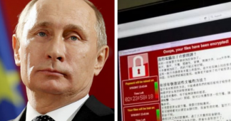 Vladimir Putin blames U.S. for global cyber attack