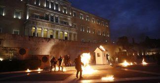 Memorandum–steamroller for the Greek people