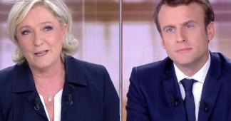 """Le petit """"grand débat 2017"""": Marine Le Pen – Emmanuel Macron"""