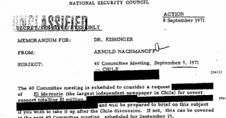 New Documents on Kissinger and Chile