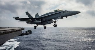US jets shoot down 'Iranian drone' in Syria – coalition