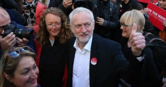 Bernie Sanders Is Super Excited About Jeremy Corbyn's Anti-Austerity Campaign