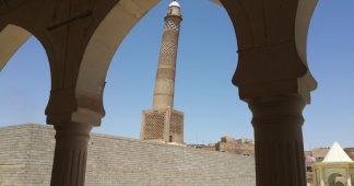 Mosul's al-Nuri Grand Mosque destroyed