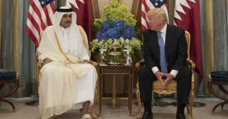 Trump takes credit for Qatar's rift with Saudi Arabia as American diplomats shudder