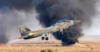 L'aviation israélienne à la rescousse des groupes djihadistes