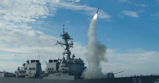 US Navy ship fires warning shots at Iranian ship