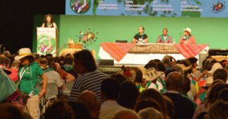 La Via Campesina's VIIth International Conference: Peasants from over 70 countries meet to build Food Sovereignty