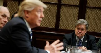 Banish Bannon? Trump weighs his options as top aides feud