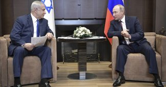 Netanyahu, the architect of the Middle Eastern war is threatening Syria, Iran and (indirectly) Russians in Syria