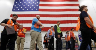 Tens of thousands line up at Amazon job fairs as Dow tops 22,000