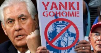Tillerson treatens Venezuela