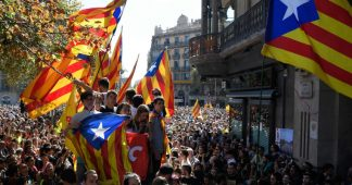 Crackdown in Catalonia