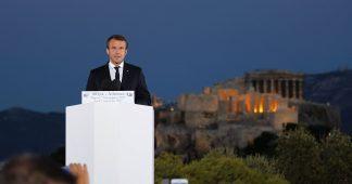En réponse à la visite du président français à Athènes