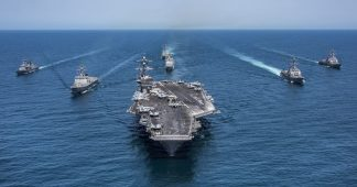 Three Aircraft Carrier Strike Groups Deployed, Trump playing China against Korea, New Warnings about Trump's plans