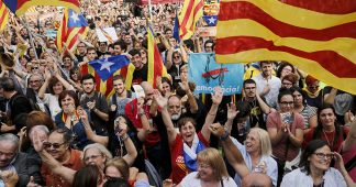 Instead of fighting Brussels/Berlin Neoliberals, the nations of Spain fight between themselves. Madrid against Catalonia