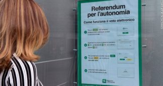 The new ideal in Europe: everybody for himself. Now Lombardy and Veneto