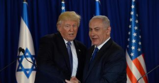 Trump and Netanyhu. Friends and partners until the end.