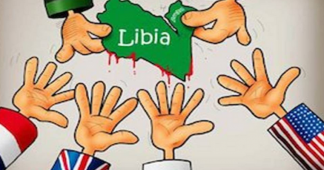 Macron leads the effort of the Western neocolonialists to make a deal on looting Libya's resources