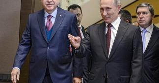Vedomosti: Putin, Erdogan shape Syria's future in Sochi