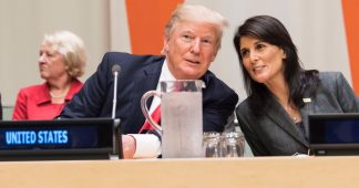 Nikki Haley Tries to Blackmail the Entire Planet. It Works on Palau
