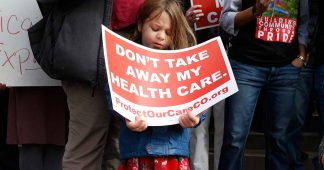 Health care threatened for nine million low-income US children