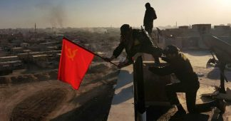 Picture Story A red flag over Raqqa