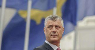 Le Président du Kosovo Hashim Thaçi responsable d'un trafic d'organes, selon le Conseil de l'Europe