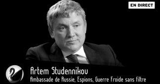 Ambassade de Russie, Espions, Guerre Froide sans filtre, par Thinkerview