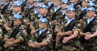 After destroying Libya, France in Syria