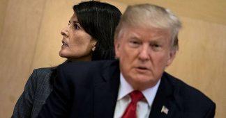 White House walks back Nikki Haley's Russia sanctions talk