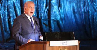 In Holocaust Memorial Speech, Netanyahu Threatens Iran: Don't Test Israel's Resolve