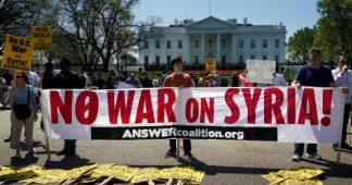 Global Anti-war Protests Against US-led Aggression in Syria