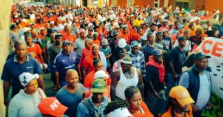 Thousands of workers in South Africa will go on a general strike tomorrow