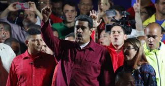 Peoples' movements across the world celebrate the victory of Nicolás Maduro