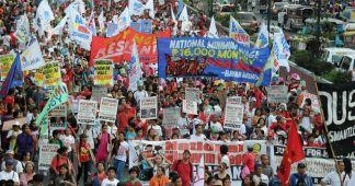 From rallies to riots: May Day across the world