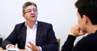 « La construction d'un peuple révolutionnaire n'est pas un dîner de gala » – Entretien avec Jean-Luc Mélenchon