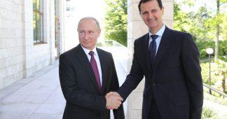 Putin & Assad hold 'extensive' talks in Sochi, discuss political settlement
