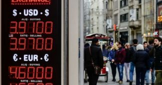 Turkey's lira tumbles as inflation nears record high