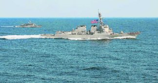 Tensions around South China Sea