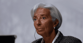 Christine Lagarde urges world to 'de-escalate' trade disputes