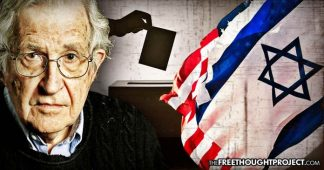 "Chomsky Admits ""Israeli Intervention In US Elections Overwhelms Anything Russia Has Done"""