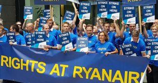 Ryanair pilots stage European-wide strike
