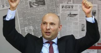 Bennett threatens to quit government if Palestinian state established