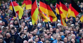 After demos, far-right AfD overtakes German Social Democrats