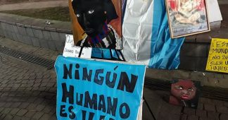 Solidarity with the imprisoned popular economy's workers and political leaders of Argentina