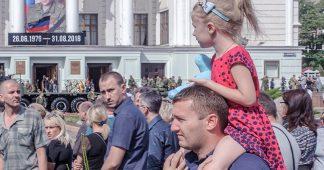 Une union sacrée invincible. Donetsk dit adieu à son premier président