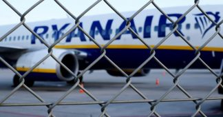Airline workers launch largest strike in Ryanair's history