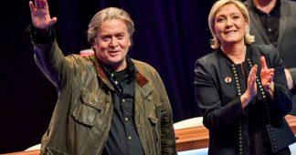Brésil : le suprémaciste Steve Bannon, ami public commun de Bolsonaro & Marine Le Pen