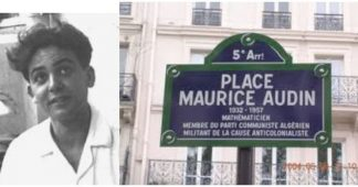 Merci à Maurice Audin, assassiné en juin 1957 en Algérie
